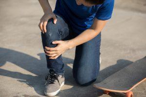 Wypadki na chodniku